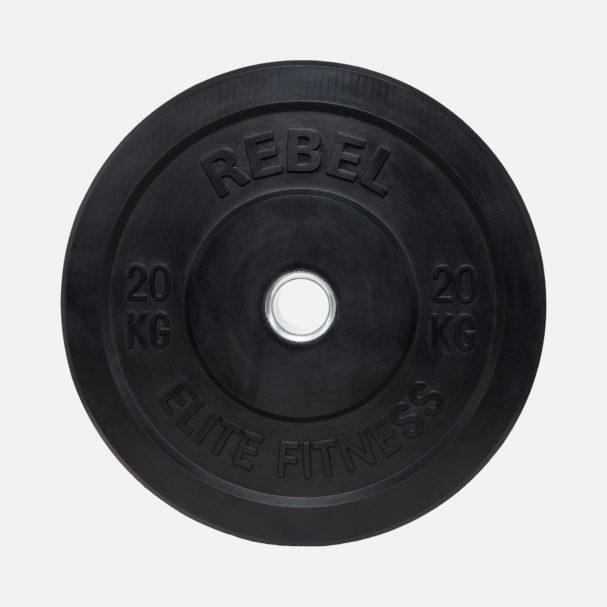 Rebel Black Rubber Bumper Weight Plates Rebel Store