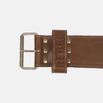 REBEL LeatherBelt (Power Lifting Belt)_Buckle Close up