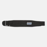 Rebel Weightlifting Belt – Black Webbing with synthetic – 120mm_ Top View