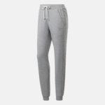 Reebok TE Textured logo pants grey heather_2