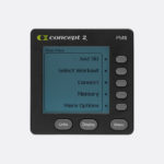 Concept2 Performance monitor on