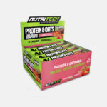 Nutritech protein bar_Strawberry granola box