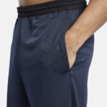 Men's Navy workout ready shorts_5