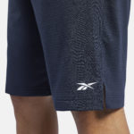 Men's Navy workout ready shorts_6