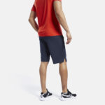 Men's Navy workout ready shorts_8