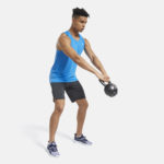 Men's Workout Ready Shorts Knit Grey_1