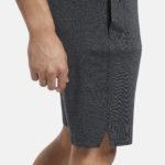 Men's Workout Ready Shorts Knit Grey_4