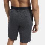 Men's Workout Ready Shorts Knit Grey_5