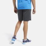Men's Workout Ready Shorts Knit Grey_8