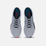 Reebok Men's Training HIIT Shoes Grey and Orange angle 1