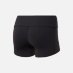 Reebok Women's Chase Bootie Shorts Solid Black back