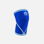 rebel store rehband rx knee sleeve 7mm blue front
