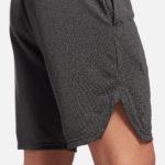Reebok Men's WOR Mel Knit Shorts Model Side 2